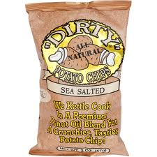 Dirty Potato Chips Sea Salted